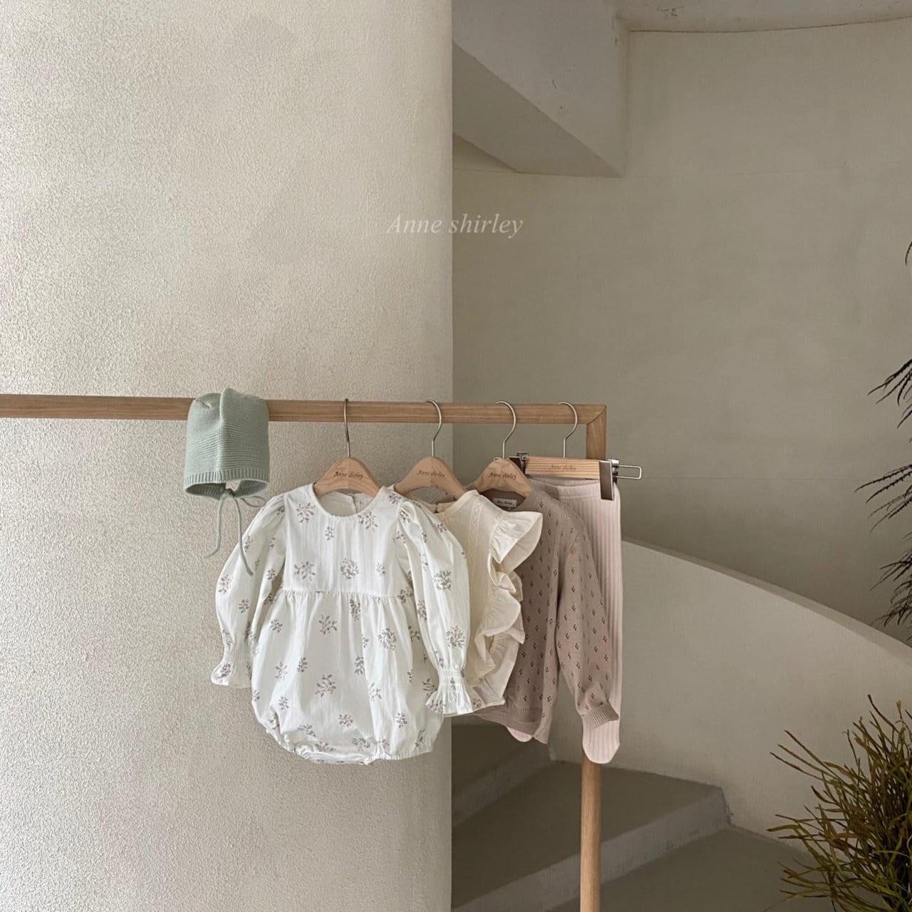 ANNE SHIRLEY - BRAND - Korean Children Fashion - #Kfashion4kids - Ben Flower Bodysuit