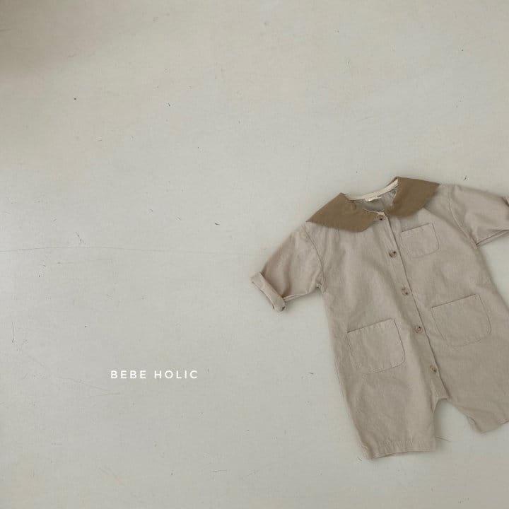 BEBE HOLIC - Korean Children Fashion - #Kfashion4kids - Flat Collar Bodysuit - 10