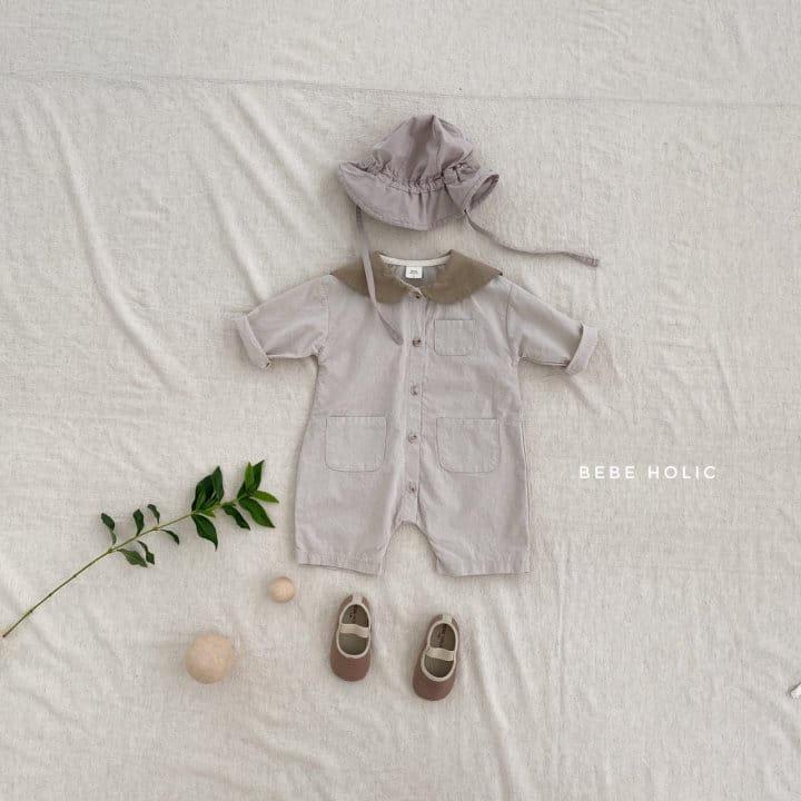 BEBE HOLIC - Korean Children Fashion - #Kfashion4kids - Flat Collar Bodysuit - 3