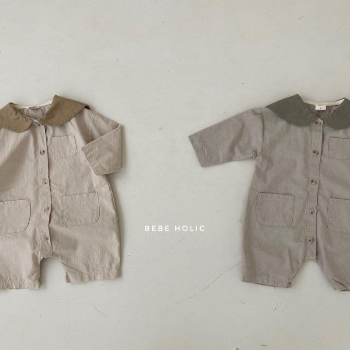 BEBE HOLIC - Korean Children Fashion - #Kfashion4kids - Flat Collar Bodysuit - 7