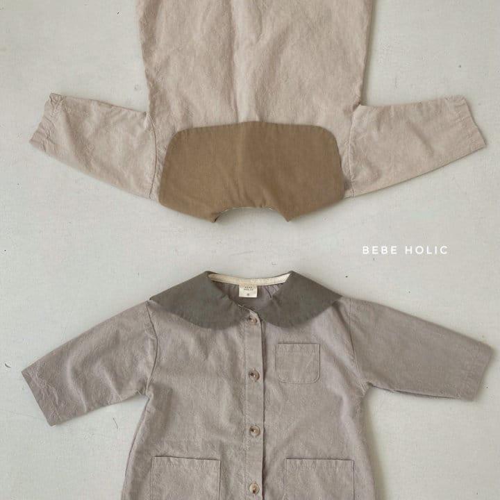 BEBE HOLIC - Korean Children Fashion - #Kfashion4kids - Flat Collar Bodysuit - 8