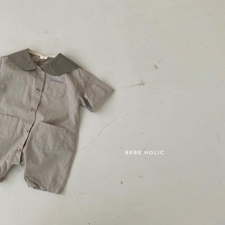 BEBE HOLIC - Korean Children Fashion - #Kfashion4kids - Flat Collar Bodysuit - 9