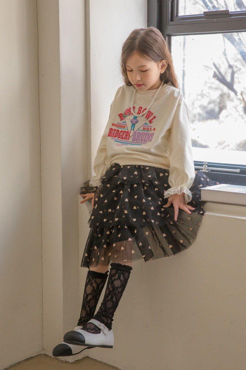 BERRY BERRY - Korean Children Fashion - #Kfashion4kids - Rose Sweatshirt - 2