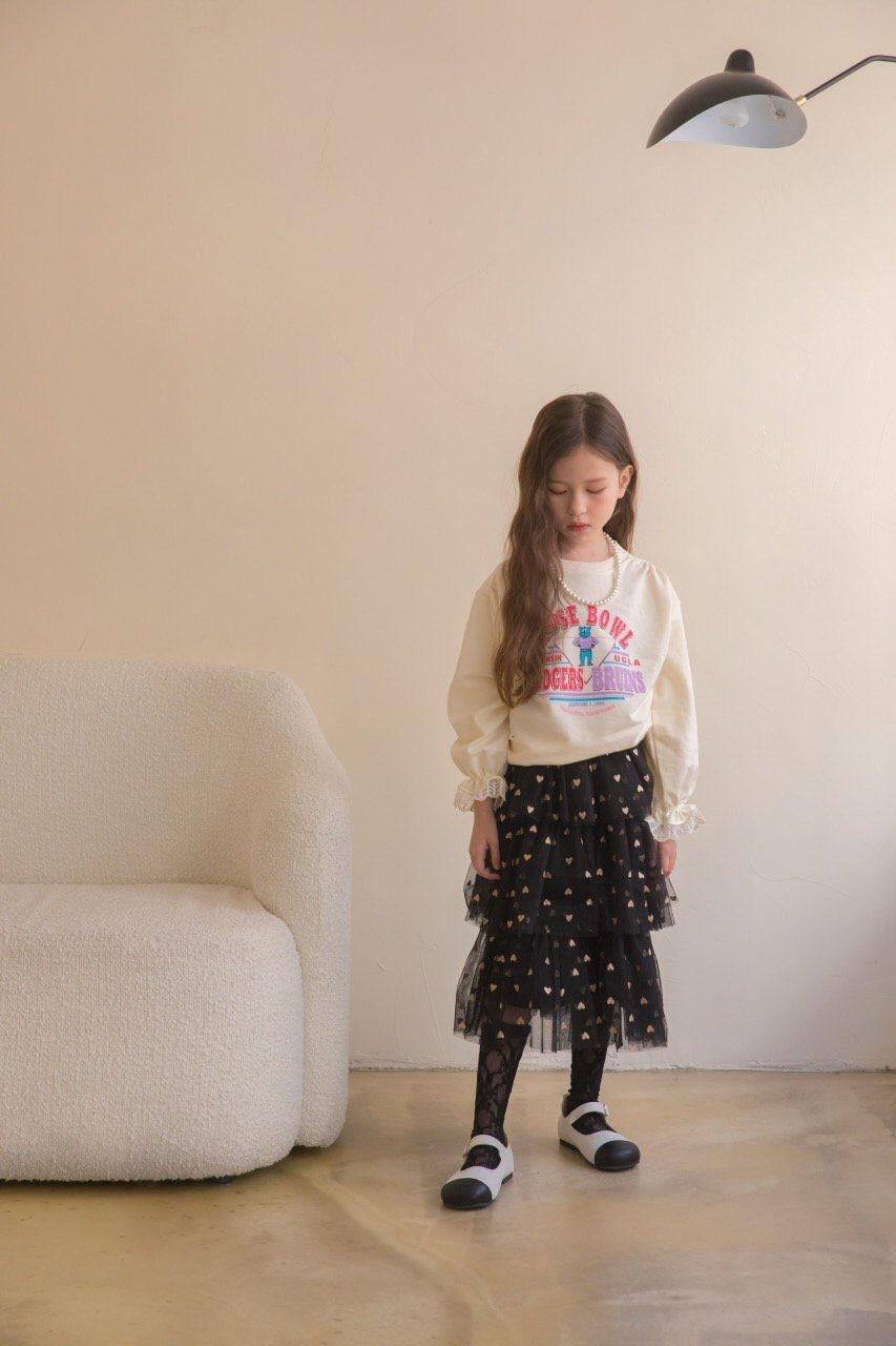 BERRY BERRY - Korean Children Fashion - #Kfashion4kids - Rose Sweatshirt - 3