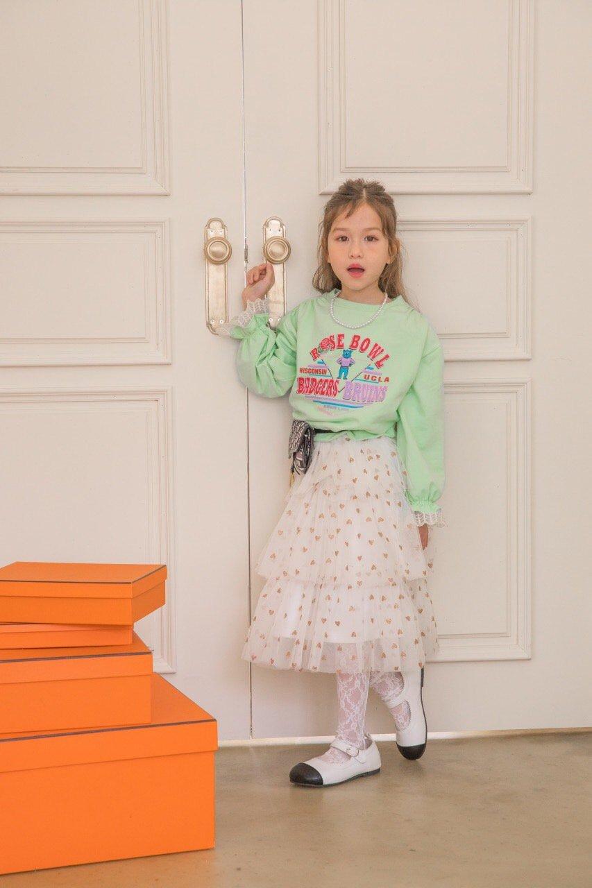 BERRY BERRY - Korean Children Fashion - #Kfashion4kids - Rose Sweatshirt - 4