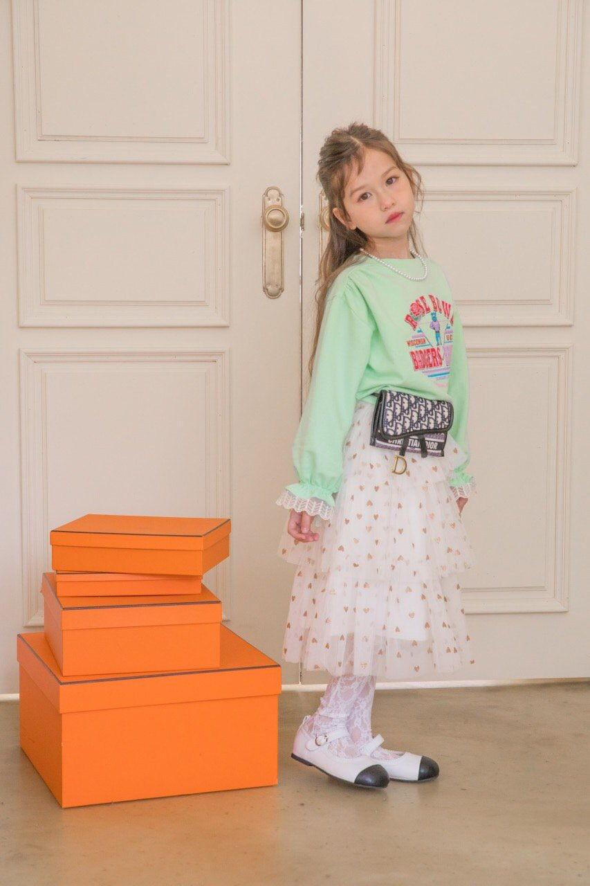 BERRY BERRY - Korean Children Fashion - #Kfashion4kids - Rose Sweatshirt - 5