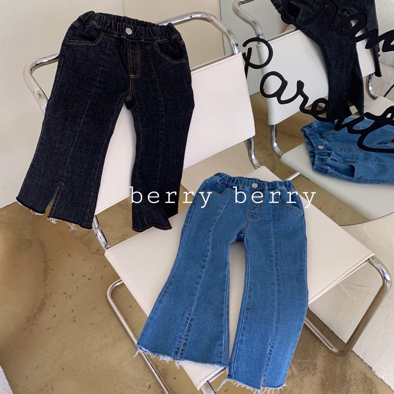 BERRY BERRY - Korean Children Fashion - #Kfashion4kids - Fashion Denim Pants