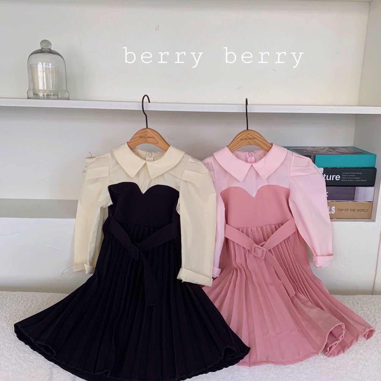 BERRY BERRY - Korean Children Fashion - #Kfashion4kids - Jadore One-piece