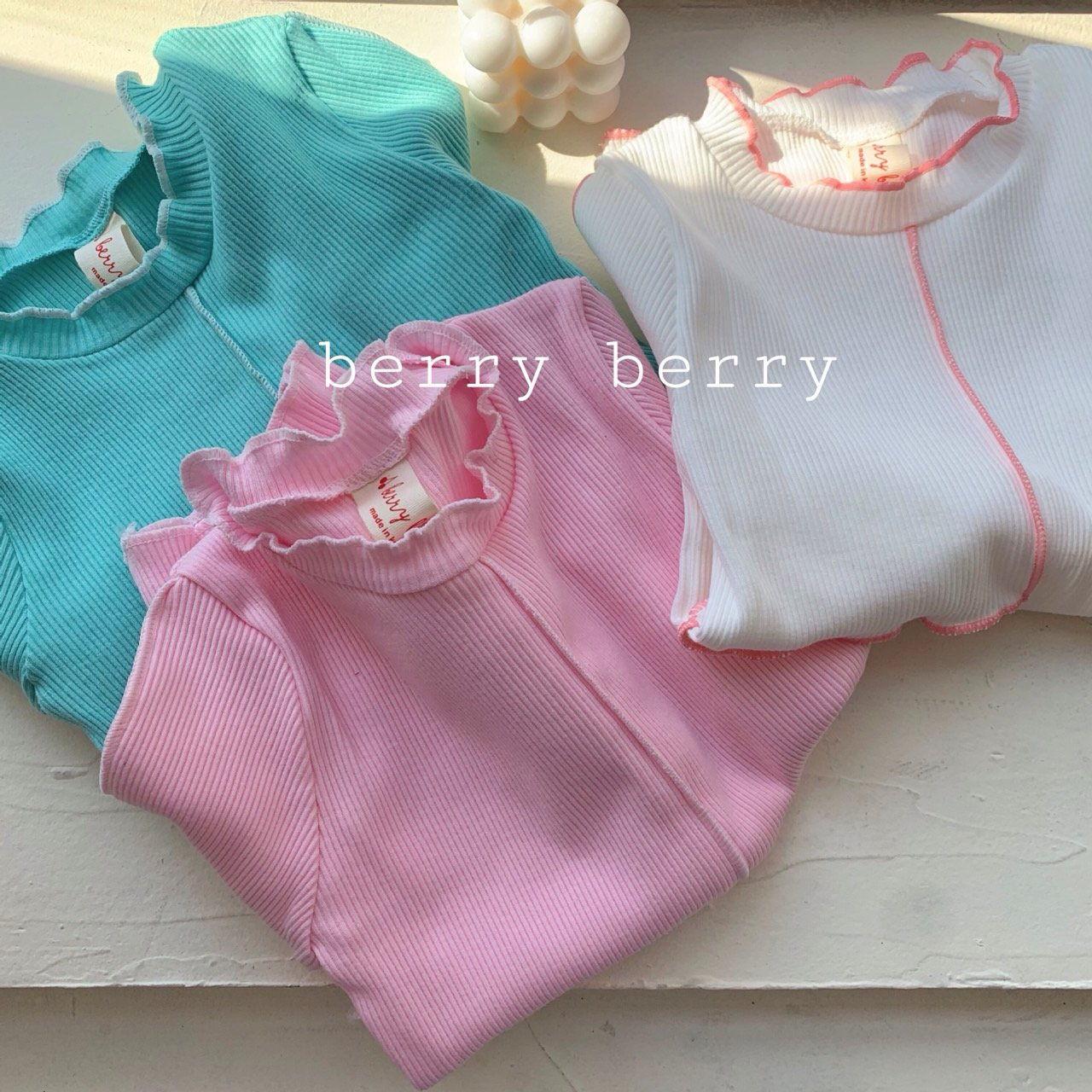 BERRY BERRY - Korean Children Fashion - #Kfashion4kids - Cotton Candy Tee