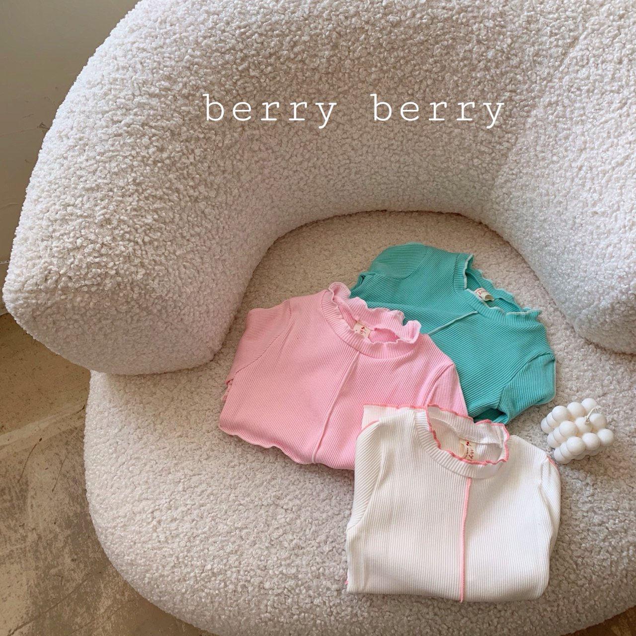 BERRY BERRY - Korean Children Fashion - #Kfashion4kids - Cotton Candy Tee - 2