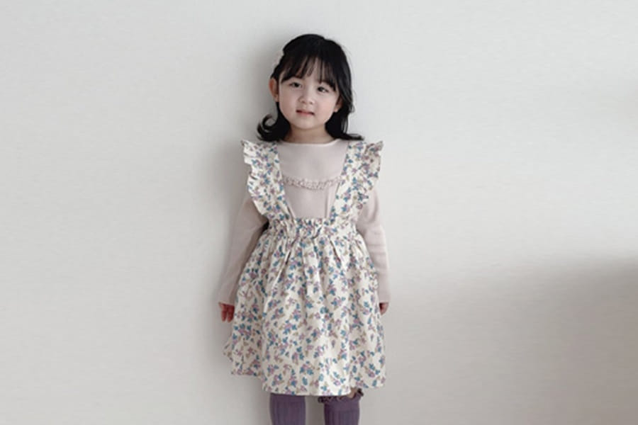 BONALOI - BRAND - Korean Children Fashion - #Kfashion4kids - Dorothy One-piece