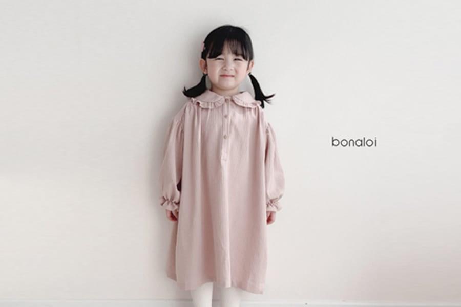 BONALOI - BRAND - Korean Children Fashion - #Kfashion4kids - Puritia One-piece