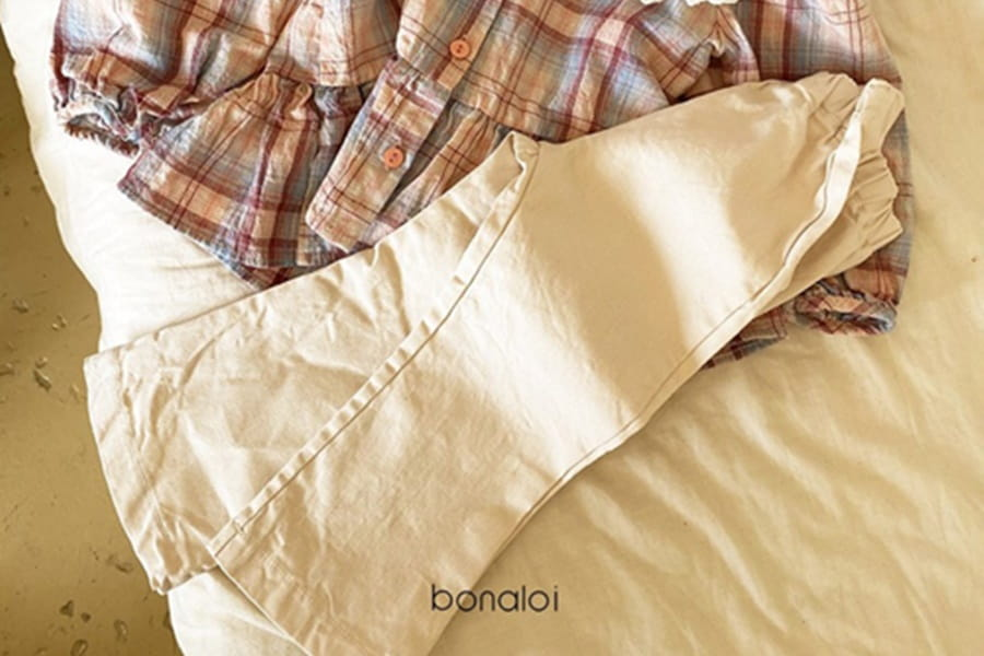 BONALOI - BRAND - Korean Children Fashion - #Kfashion4kids - Little Bootscut Pants