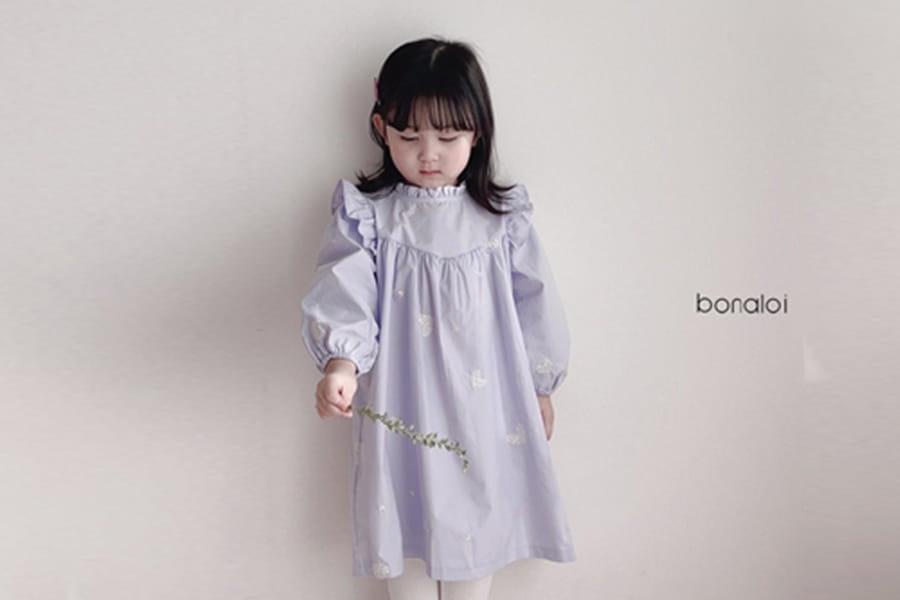 BONALOI - BRAND - Korean Children Fashion - #Kfashion4kids - Tiamo Heart One-piece