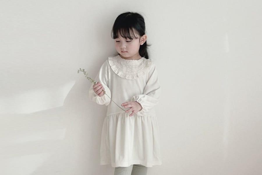 BONALOI - BRAND - Korean Children Fashion - #Kfashion4kids - Voca Lace One-piece