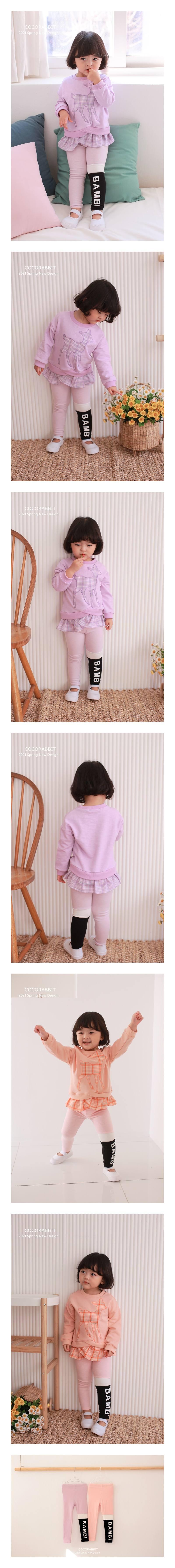 COCO RABBIT - Korean Children Fashion - #Kfashion4kids - Bambi Leggings