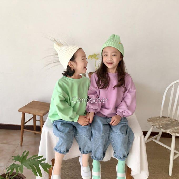 CONCOCTER - BRAND - Korean Children Fashion - #Kfashion4kids - Smart Spring Sweatshirt