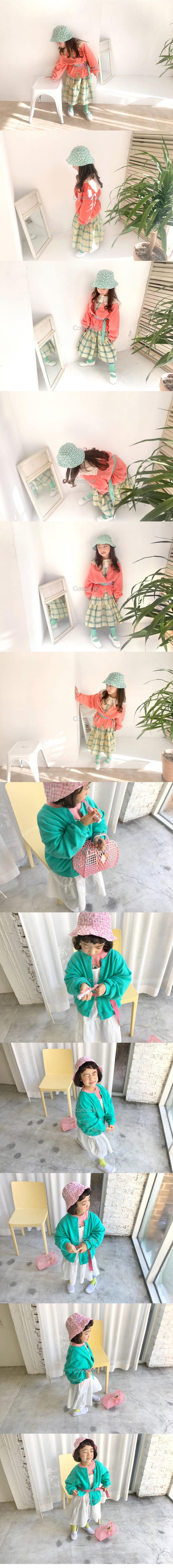CONCOCTER - Korean Children Fashion - #Kfashion4kids - Round Cardigan  - 2