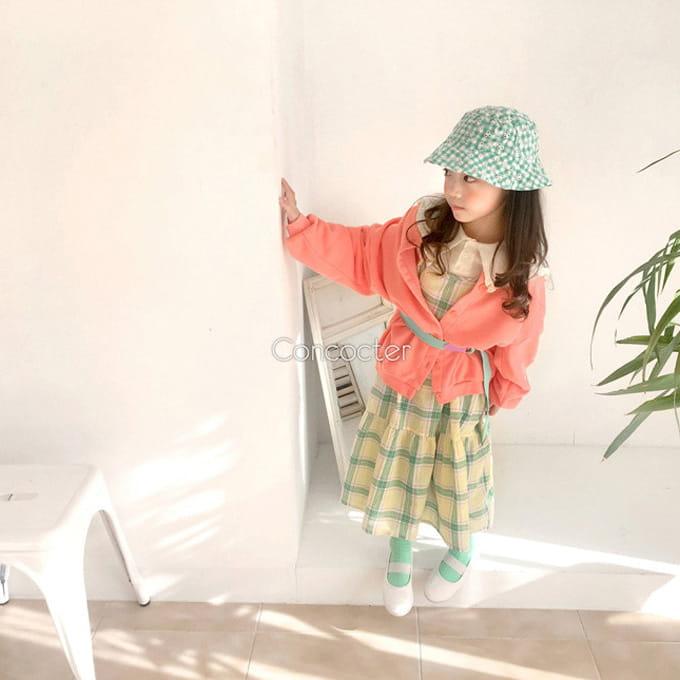 CONCOCTER - BRAND - Korean Children Fashion - #Kfashion4kids - Round Cardigan