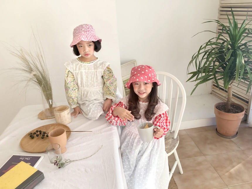 CONCOCTER - Korean Children Fashion - #Kfashion4kids - Layered Vest One-piece