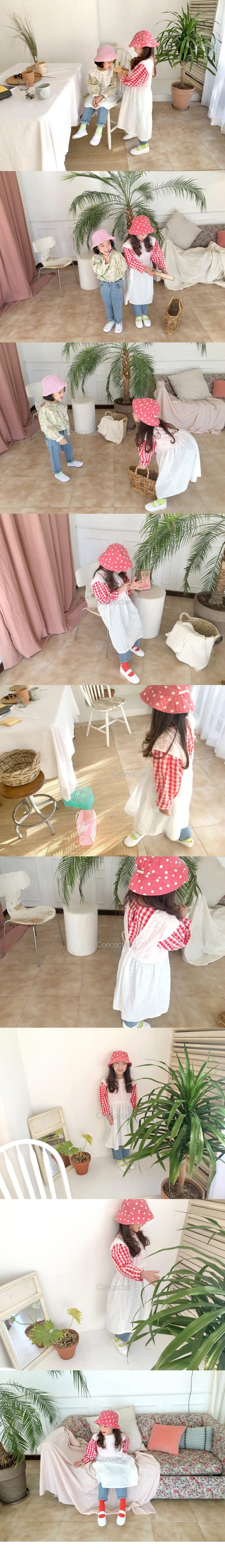 CONCOCTER - Korean Children Fashion - #Kfashion4kids - Layered Vest One-piece - 2