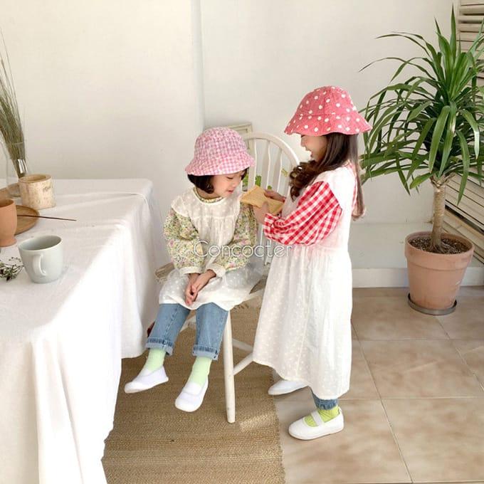 CONCOCTER - BRAND - Korean Children Fashion - #Kfashion4kids - Layered Vest One-piece