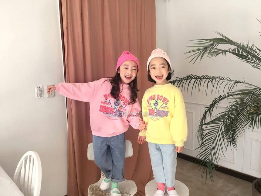 CONCOCTER - Korean Children Fashion - #Kfashion4kids - Rose Bear Sweatshirt