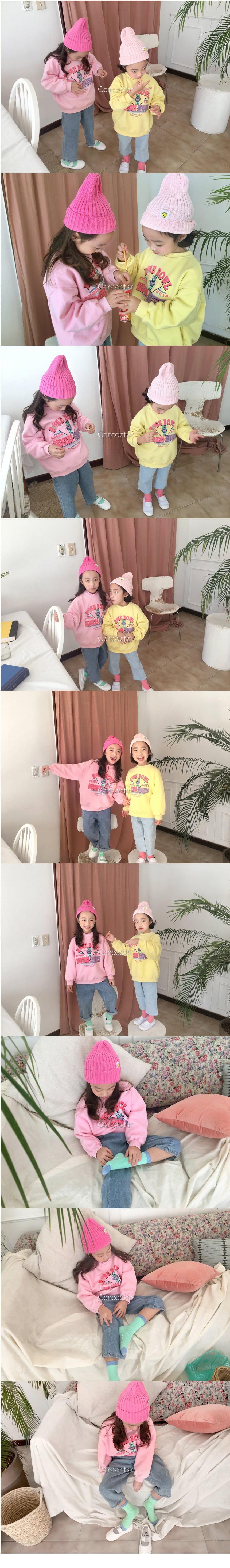 CONCOCTER - Korean Children Fashion - #Kfashion4kids - Rose Bear Sweatshirt - 2