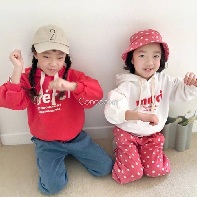 CONCOCTER - BRAND - Korean Children Fashion - #Kfashion4kids - Merci Hoody Top