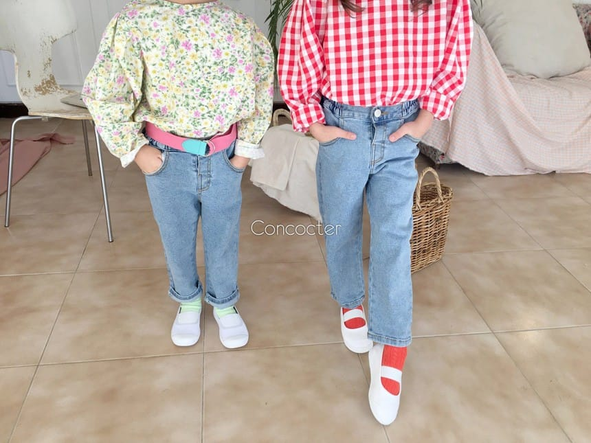 CONCOCTER - Korean Children Fashion - #Kfashion4kids - Very Good Span Stright Pants