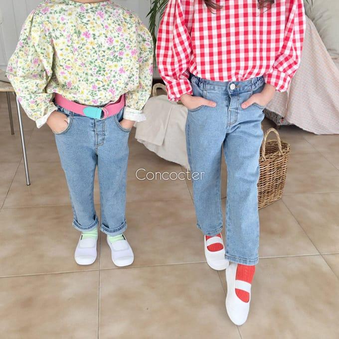 CONCOCTER - BRAND - Korean Children Fashion - #Kfashion4kids - Very Good Span Stright Pants