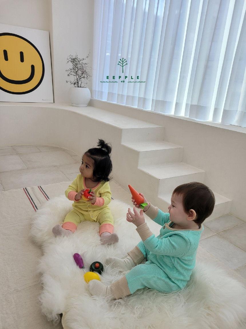 EEPPLE - Korean Children Fashion - #Kfashion4kids - Spring Rip Bodysuit - 3