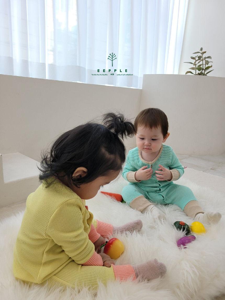 EEPPLE - Korean Children Fashion - #Kfashion4kids - Spring Rip Bodysuit - 4