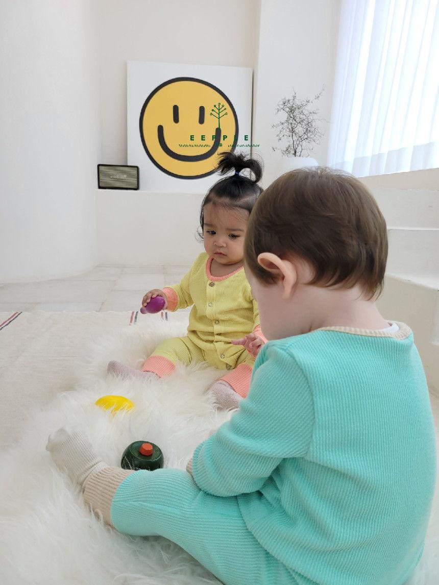EEPPLE - Korean Children Fashion - #Kfashion4kids - Spring Rip Bodysuit - 5
