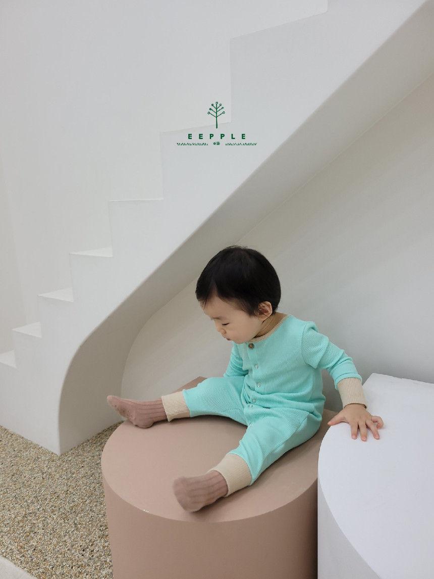 EEPPLE - BRAND - Korean Children Fashion - #Kfashion4kids - Spring Rip Bodysuit