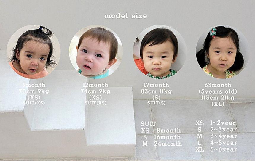 EEPPLE - Korean Children Fashion - #Kfashion4kids - Flower Sweatshirt Bodysuit - 10