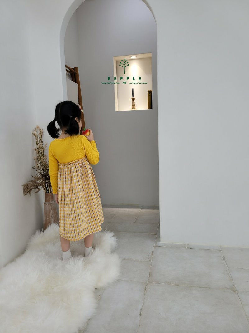 EEPPLE - Korean Children Fashion - #Kfashion4kids - Heidi One-piece - 6