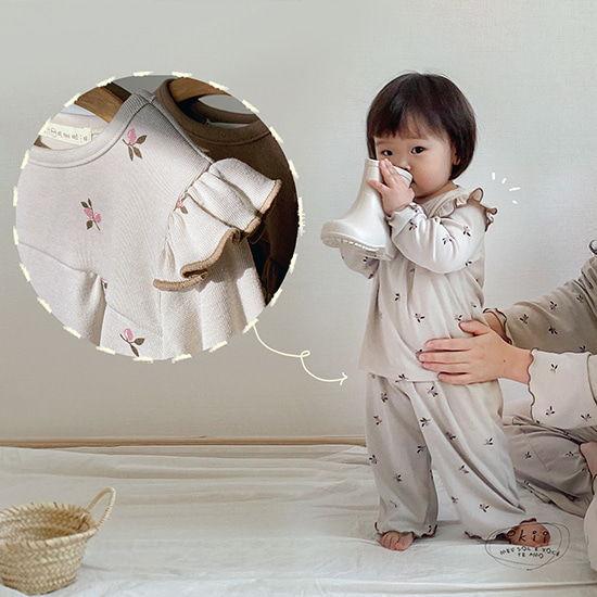 IKII - BRAND - Korean Children Fashion - #Kfashion4kids - Lilly Pajamas
