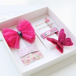 JIREH BOW - BRAND - Korean Children Fashion - #Kfashion4kids - Cherry Tok Pin Gift [set of 7]