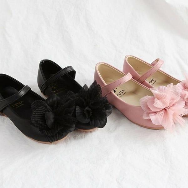 LA STELLA - BRAND - Korean Children Fashion - #Kfashion4kids - Daisy Flat