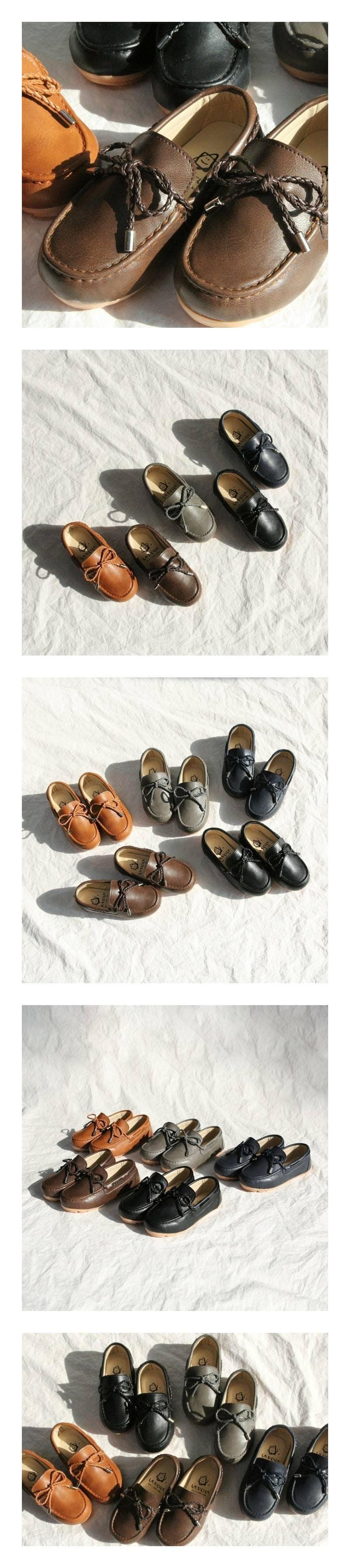 LA STELLA - Korean Children Fashion - #Kfashion4kids - Mesh Loafer