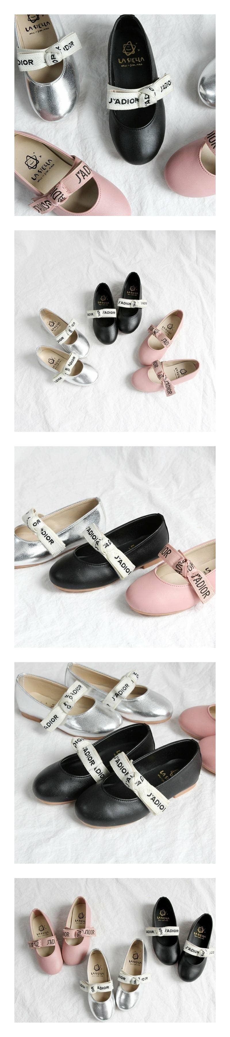 LA STELLA - Korean Children Fashion - #Kfashion4kids - Blueming Flats