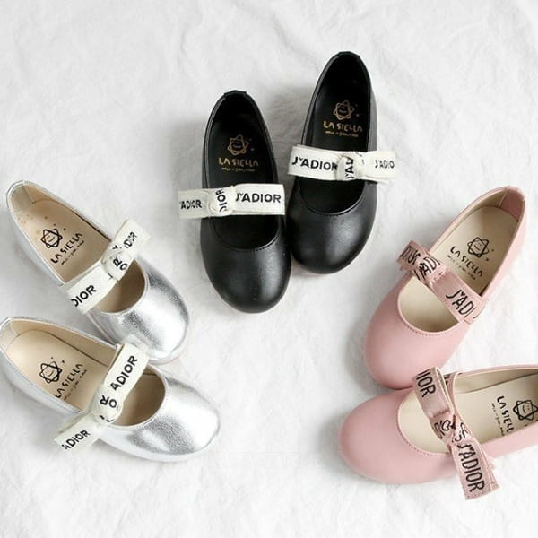 LA STELLA - BRAND - Korean Children Fashion - #Kfashion4kids - Blueming Flats