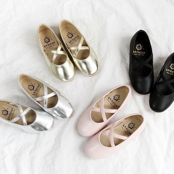 LA STELLA - BRAND - Korean Children Fashion - #Kfashion4kids - Jane Flats