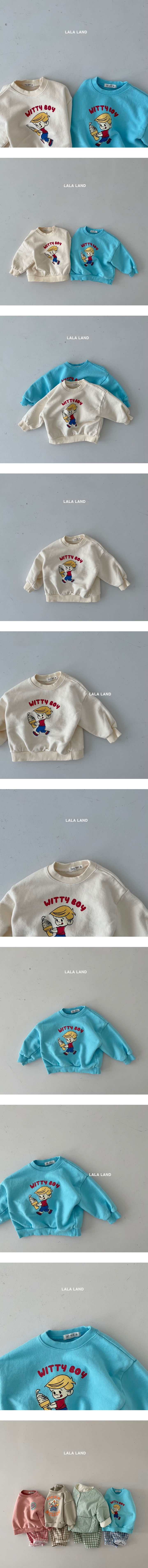 LALALAND - Korean Children Fashion - #Kfashion4kids - Witty Boy Tee