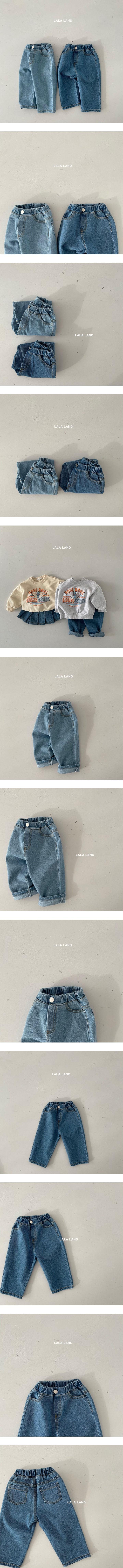 LALALAND - Korean Children Fashion - #Kfashion4kids - Straight Denim Pants