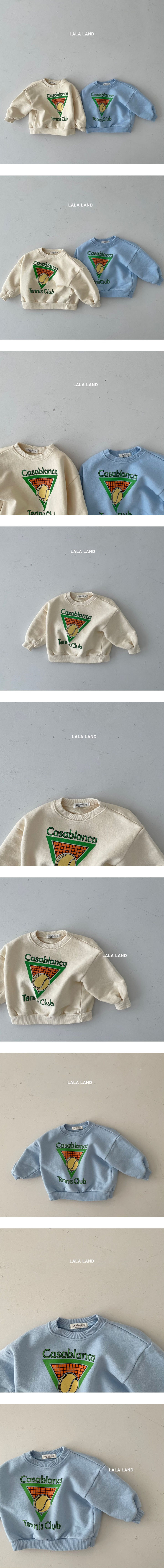 LALALAND - Korean Children Fashion - #Kfashion4kids - Tennis Sweatshirt