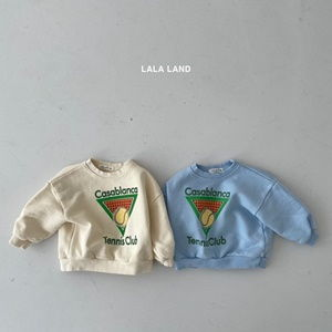 LALALAND - BRAND - Korean Children Fashion - #Kfashion4kids - Tennis Sweatshirt