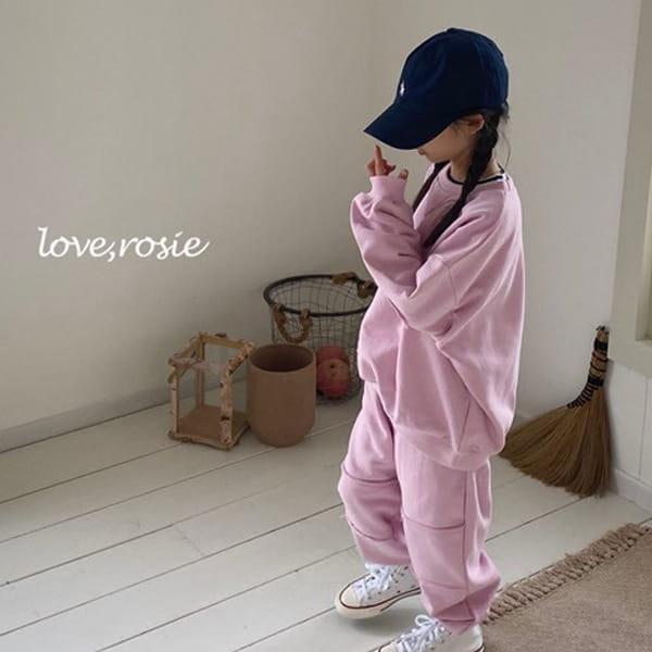 LOVE ROSIE - BRAND - Korean Children Fashion - #Kfashion4kids - Dekki Jogger Training Top Bottom Set