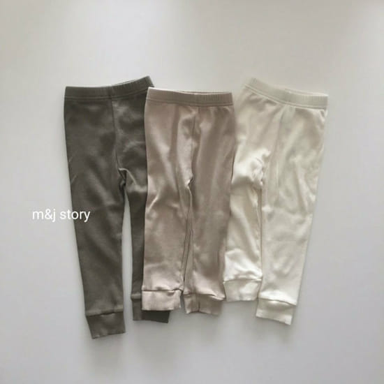 M & J STORY - Korean Children Fashion - #Kfashion4kids - Simple Leggings
